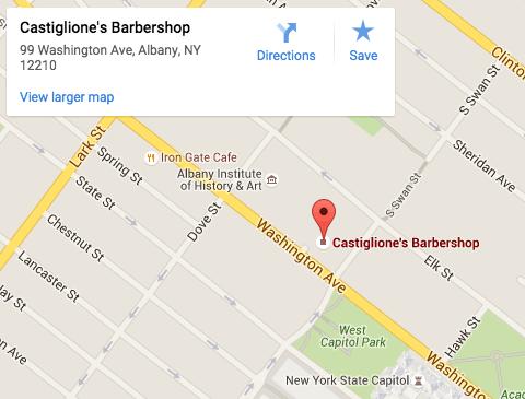 Castiglione's Location
